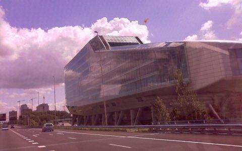 budynek w holandia